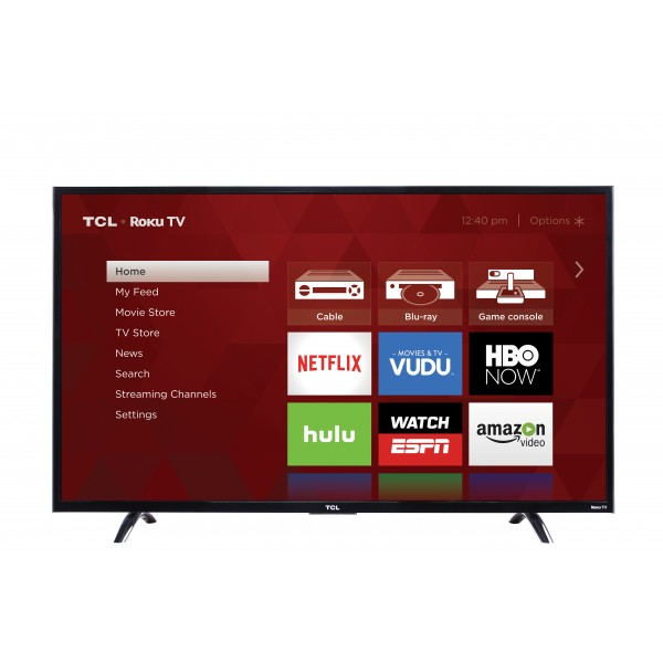 TCL 43 Inch Full HD Smart LED TV - LED43D2930